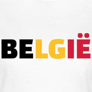Belgie T-Shirts - Frauen T-Shirt