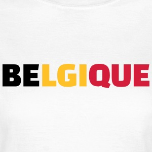 Belgique T-Shirts - Frauen T-Shirt