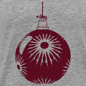 Star flakes Christmas ball T-Shirts - Men's Premium T-Shirt