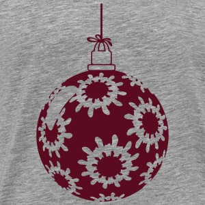 Flakes Christmas ball T-Shirts - Men's Premium T-Shirt