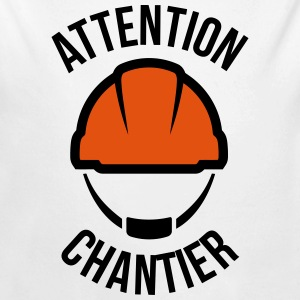Attention Chantier Sweats - Body bébé bio manches longues