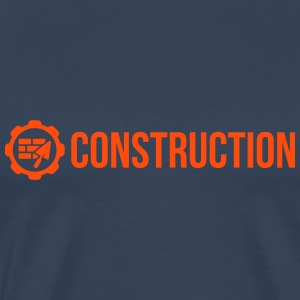 Construction T-skjorter - Premium T-skjorte for menn