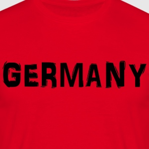 Germany T-shirts - Mannen T-shirt