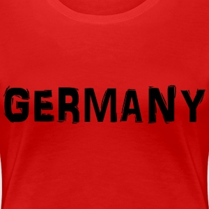 Germany T-shirts - Vrouwen Premium T-shirt
