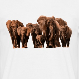 elephants T-shirts - Herre-T-shirt