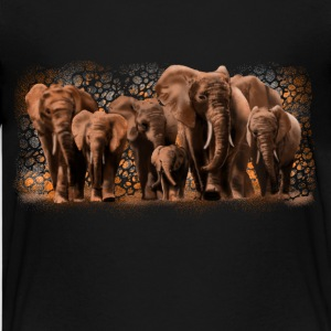 elephants Shirts - Teenager Premium T-shirt