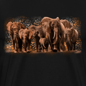 elephants T-shirts - Mannen Premium T-shirt