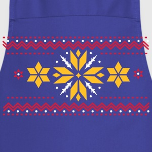 Star pattern in the Norwegian style  Aprons - Cooking Apron