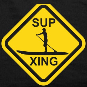 SUP Crossing - Stand up paddling roadsign - Retro Tasche