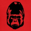 Gorilla - Männer Slim Fit T-Shirt