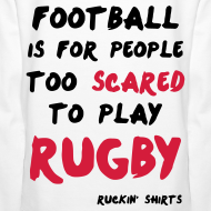 Design ~ Scared to Play Rugby