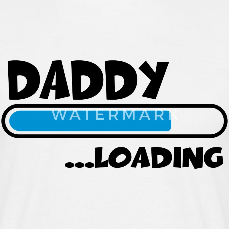 Daddy loading T-shirts - Herre-T-shirt