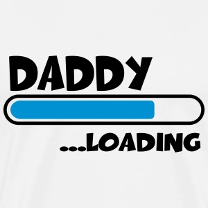Daddy loading T-shirts - Mannen Premium T-shirt