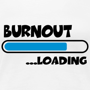 Burnout loading T-skjorter - Premium T-skjorte for kvinner