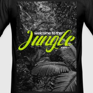 Welcome to the JUNGLE T-Shirts - Men's Slim Fit T-Shirt