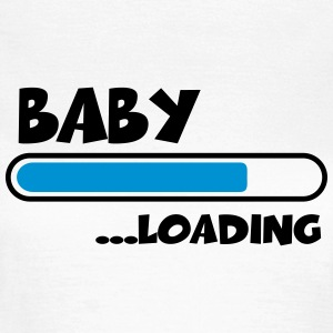 Baby loading T-shirts - Dame-T-shirt