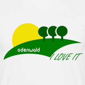 ODENWALD - I Love it - Männer T-Shirt
