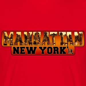 manhattan new york Tee shirts - T-shirt Homme