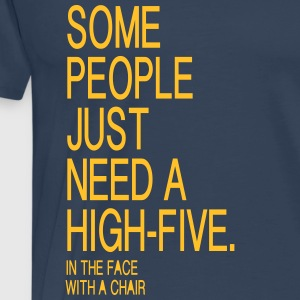 High Five T-Shirts - Männer Premium T-Shirt
