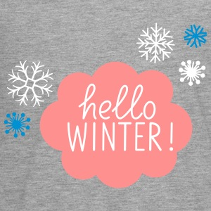 Hello Winter - Teenager Premium Langarmshirt