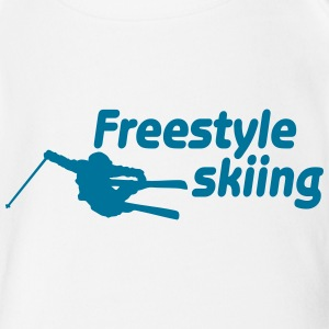 freestyle skiing ii Tee shirts - Body bébé bio manches courtes