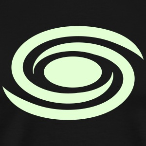 Spiral galaxy, universe, cosmos, milky way Tee shirts - T-shirt Premium Homme
