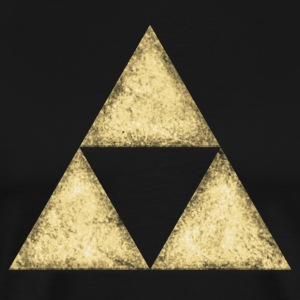 Triforce, Triangle, Triforce, Math, Geometry T-Shirts - Men's Premium T-Shirt