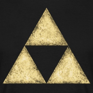 Triforce, Triangle, Triforce, Math, Geometry T-Shirts - Men's T-Shirt