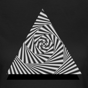 Triangel Optical Illusion T-Shirts - Frauen T-Shirt