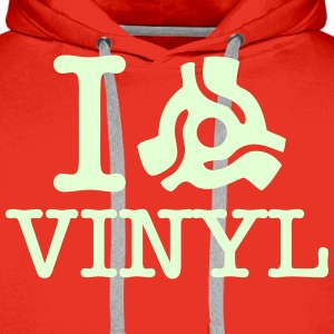 i 45 Adapter Vinyl Hoodies & Sweatshirts - Men's Premium Hoodie