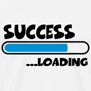 Success loading T-shirts - Premium-T-shirt herr
