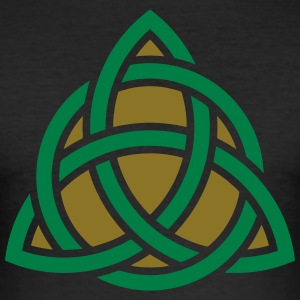 Celtic Knot, Triquetra, Patricks Day, Trinity T-Sh - Men's Slim Fit T-Shirt