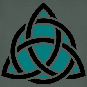 Celtic Knot, Triquetra, Patricks Day, Trinity T-Sh - Men's Organic T-shirt