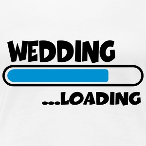 Wedding loading T-Shirts - Women's Premium T-Shirt