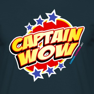 Captain Wow - Men's T-Shirt
