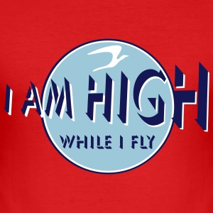 i am high x_vec_3 en T-Shirts - Men's Slim Fit T-Shirt
