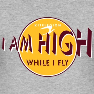 i am high_vec_3 en T-Shirts - Men's Slim Fit T-Shirt