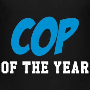Cop of the Year - Police - Policeman - Gun Shirts - Kids' Premium T-Shirt