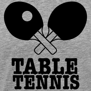 table tennis  T-Shirts - Men's Premium T-Shirt