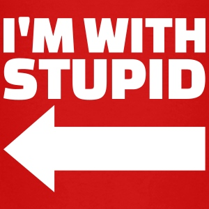 I'm with stupid T-Shirts - Kinder Premium T-Shirt