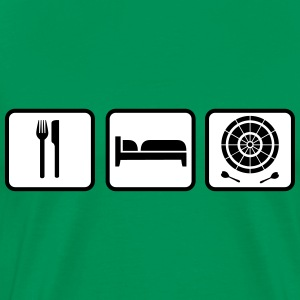 Eat Sleep Darts T-Shirts - Men's Premium T-Shirt