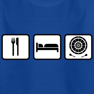Eat Sleep Darts Shirts - Kids' T-Shirt