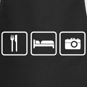 Eat Sleep Fotographieren  Aprons - Cooking Apron