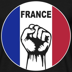 france logo Tee shirts - T-shirt Homme