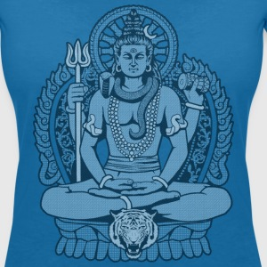 Mahadeva Shiva T-Shirts - Women's V-Neck T-Shirt