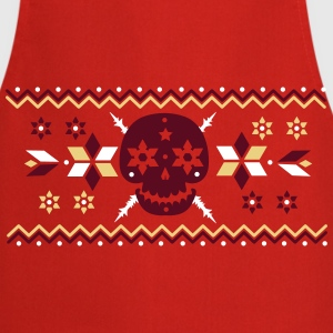 Skull pattern in the Norwegian style   Aprons - Cooking Apron
