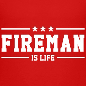 Fireman is life Shirts - Kids' Premium T-Shirt