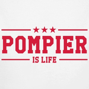 Pompier is life Pullover & Hoodies - Baby Bio-Langarm-Body