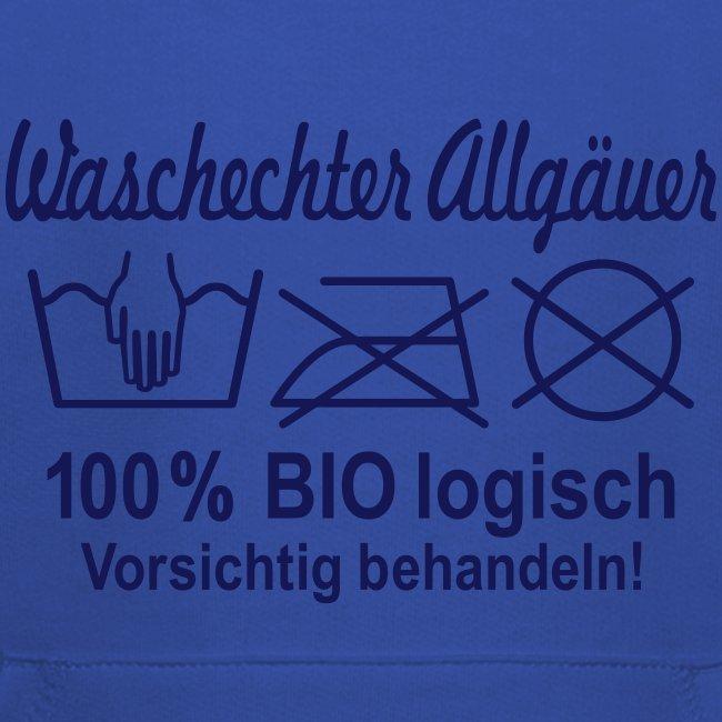Waschechter Allgäuer, Allgäu, Bayern, lustig, Spruch