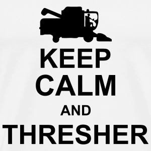 keep_calm_and_thresher_g1 T-shirts - Premium-T-shirt herr